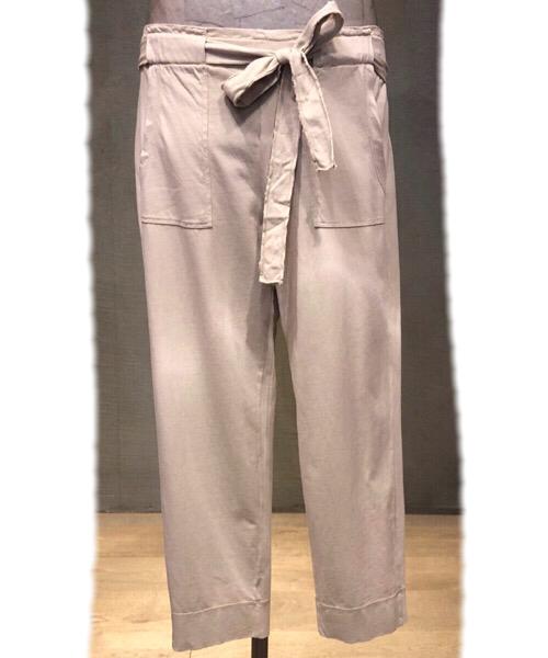Pantalone in Magliba  di cotone a sigaretta  Deha