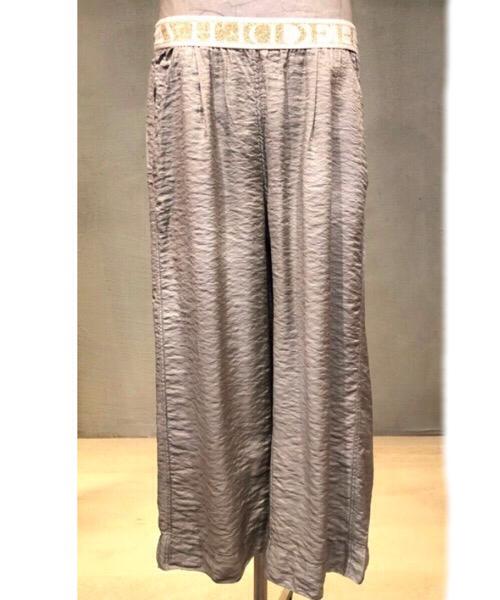 Pantalone in Viscosa di cotone e lurex Deha
