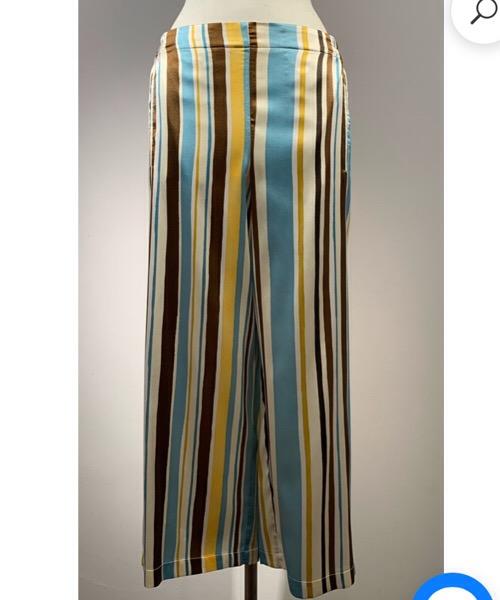 Pantalone cropped di seta Niù