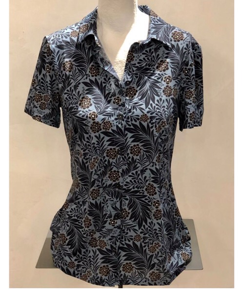 camicia in viscosa satin SIYU
