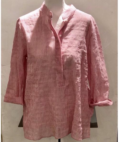 Camicia Coreana over millerighe Niù