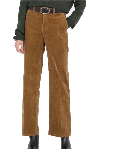 JOHN - Pantalone largo in velluto a coste Beige Lab Dip