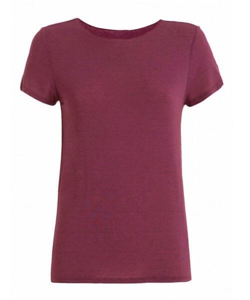 T-Shirt MAGLIETTA IN CASHMERE Deha tango red